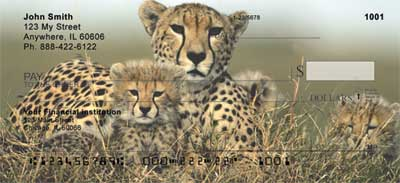 Big Cat Babies Personal Checks