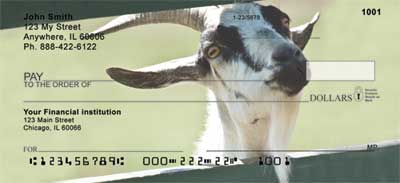 Goats Personal Checks