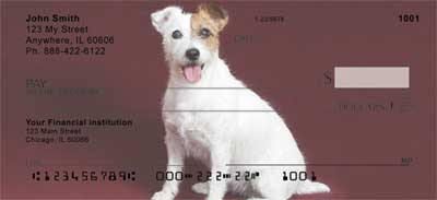 Jack Russell Terriers Personal Checks