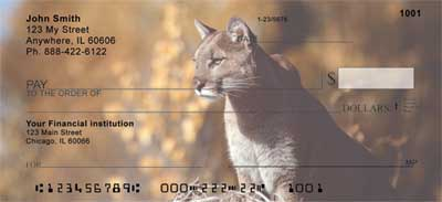 Cougars Personal Checks