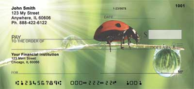 Ladybugs Personal Checks