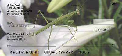 Praying Mantises Personal Checks