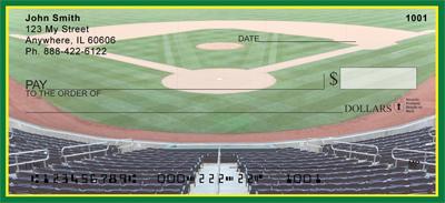 Green & Yellow Baseball Team