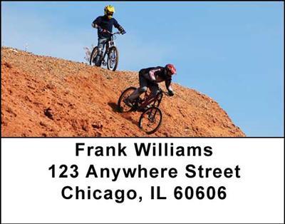 Mountain Bikes Address Labels