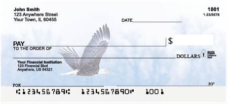 Bald Eagles Personal Checks