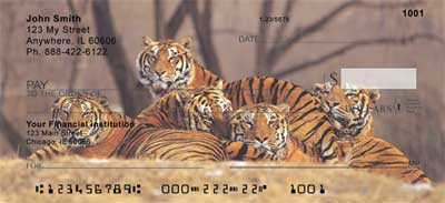 Bengal Tigers Personal Checks