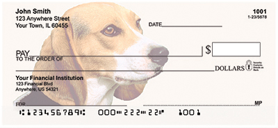 Beagle Portrait Checks