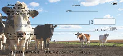 Cows Personal Checks