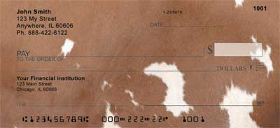 Cow Prints Personal Checks