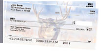 Big Horned Buck Deer Side Tear Personal Checks