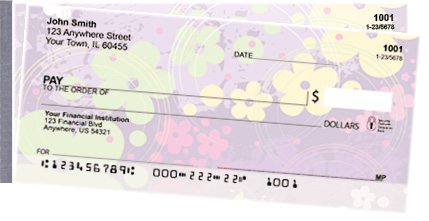 Aloha Flowers Side Tear Personal Checks