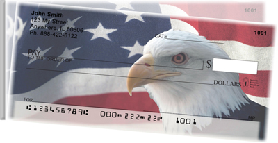 Soaring Over America Side Tear Personal Checks