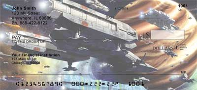 Space Cruisers Personal Checks