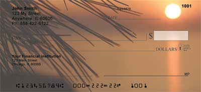 Scenic Sunsets Personal Checks
