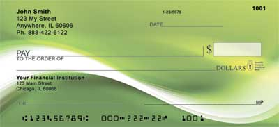 Sea of Green Personal Checks