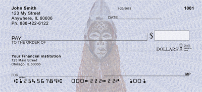 African Americans African Pride Personal Checks