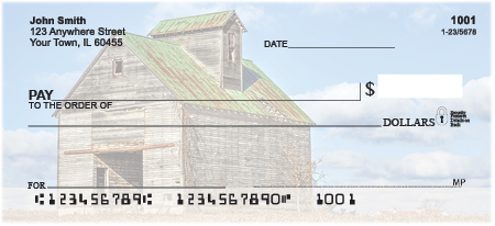 Barns on the Prairie Personal Checks