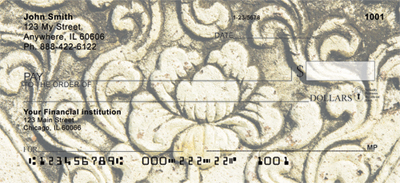 Asian Carvings Personal Checks