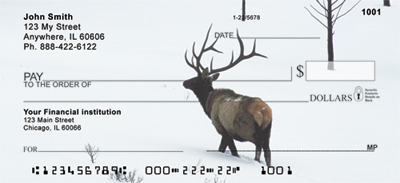 Elk Racks Personal Checks