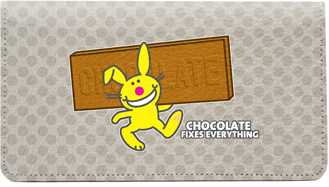 It's Happy Bunny Not-So-Guilty Leather Cover