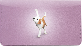 Yoga Dogs Leather Cover