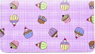 Cupcake Leather Cover