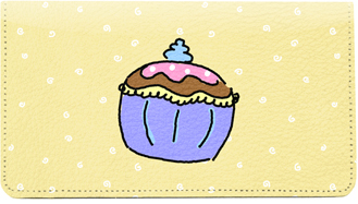 More Cupcake Leather Cover