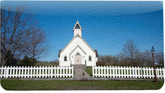 Country Churches Leather Cover