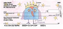 Inspiring Owls Personal Checks