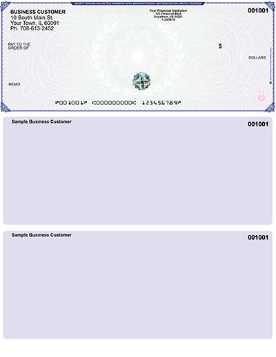 Blue Green Hologram Premium Top Laser Check