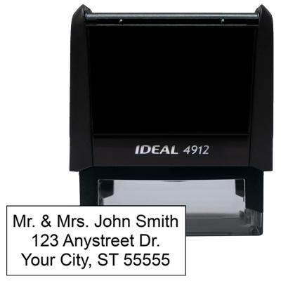 3 Line Address Stamp