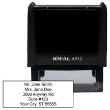 5 Line Address Stamp