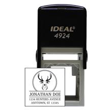 Designer Deer Square Stamp