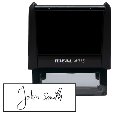 Custom Signature Stamp