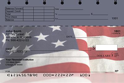 American Pride Top Stub Personal Checks