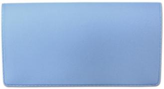 Light Blue Vinyl Check Book Cover