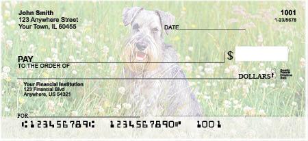 Schnauzers Personal Checks