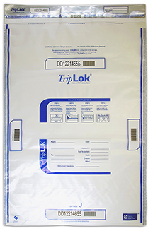 Deposit Bag 22'' X 33'' TripLok, clear