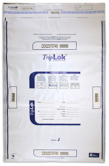 Deposit Bag 22'' X 33'' TripLok, white