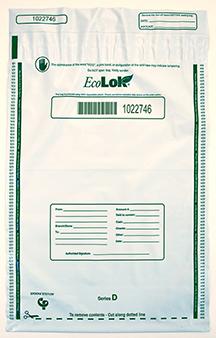 Deposit Bag 12'' X 16'' EcoLok, white