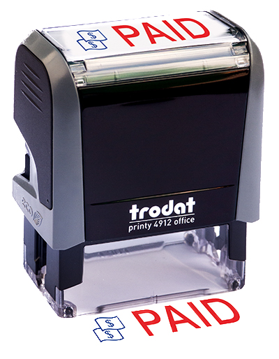 ''Paid'' Message Stamp