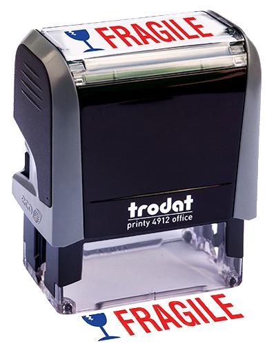 Fragile Message Stamp
