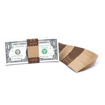Natural Saw-Tooth $100 Currency Band