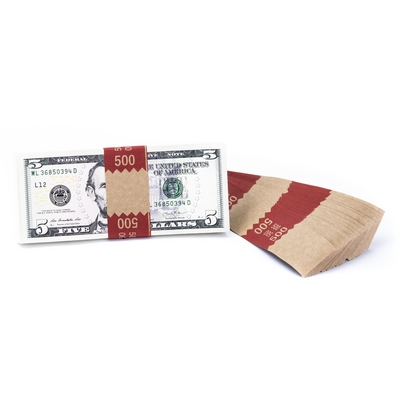 Natural Saw-Tooth $500 Currency Band