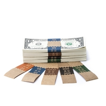 Natural Saw-Tooth Color-Coded Low Dollar Currency Band Set