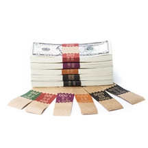 Natural Saw-Tooth Color-Coded High Dollar Currency Band Set