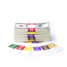 Saw-Tooth Color-Coded High Dollar Currency Band Set