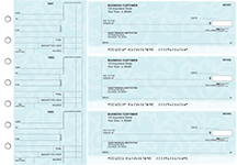 Swirls Standard Counter Signature Business Checks