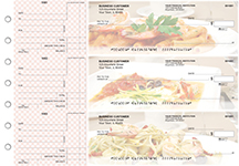 Italian Cuisine Standard Mailer Business Checks