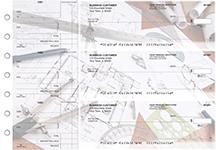 Architect Standard Mailer Business Checks